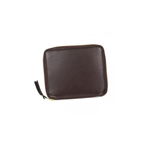 COMME des GARCONS(コムデギャルソン) 二つ折り財布(小銭入れ付) SA2100 BROWNf00
