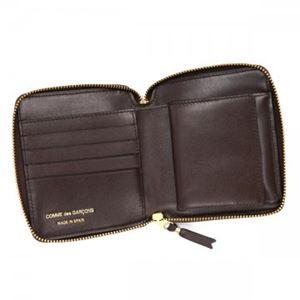 COMME des GARCONS(コムデギャルソン) 二つ折り財布(小銭入れ付) SA2100 BROWN h03