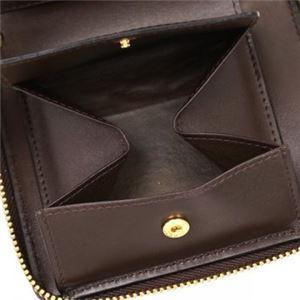 COMME des GARCONS(コムデギャルソン) 二つ折り財布(小銭入れ付) SA2100 BROWN f04