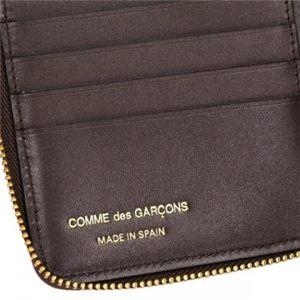 COMME des GARCONS(コムデギャルソン) 二つ折り財布(小銭入れ付) SA2100 BROWN f05