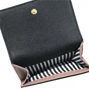 KATE SPADE(ケイトスペード) 二つ折り財布(小銭入れ付) PWRU5092 221 PORCINI/BLACK f04