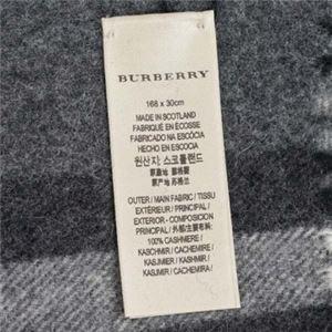 Burberry(バーバリー) マフラー GIANT ICON 168 CORE CASHMERE MID GREY h03