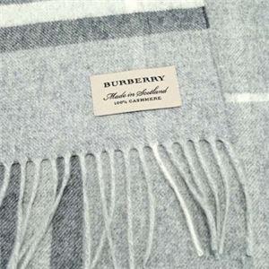 Burberry(バーバリー) マフラー GIANT ICON 168 PALE GREY h02