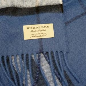 Burberry(バーバリー) マフラー GIANT ICON 168 CADET BLUE h02
