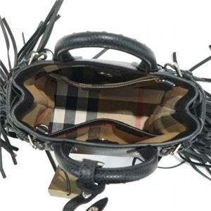 Burberry(バーバリー) ハンドバッグ  4012424  BLACK h03