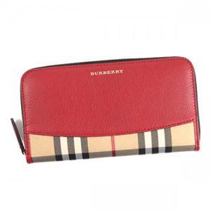 Burberry(バーバリー) 長財布  4024980  PARADE RED h01