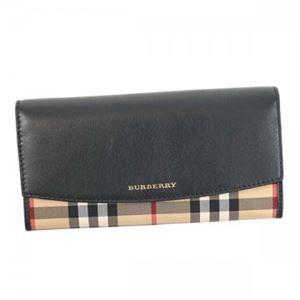 Burberry(バーバリー) 長財布  4024987  BLACK h01