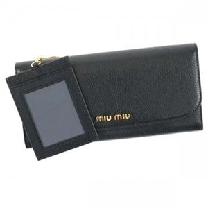 MIUMIU(ミュウミュウ) 長財布  5MH109 F0002 NERO h01