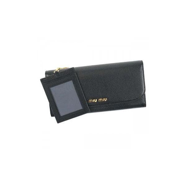 MIUMIU(ミュウミュウ) 長財布  5MH109 F0002 NEROf00