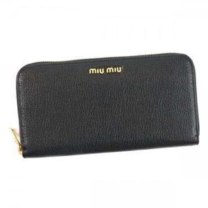 MIUMIU(ミュウミュウ) 長財布  5ML506 F0002 NERO