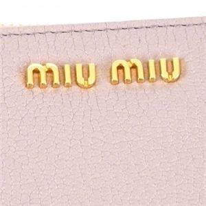 MIUMIU(ミュウミュウ) 長財布  5ML506 F010F MUGHETTO f04