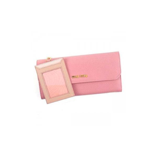 MIUMIU(ミュウミュウ) 長財布  5MH379 F0028 ROSAf00