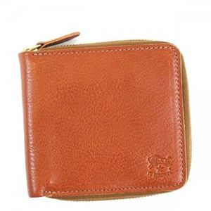 IL Bisonte(イルビソンテ) 二つ折り財布(小銭入れ付) C0990 214 COGNAC h01