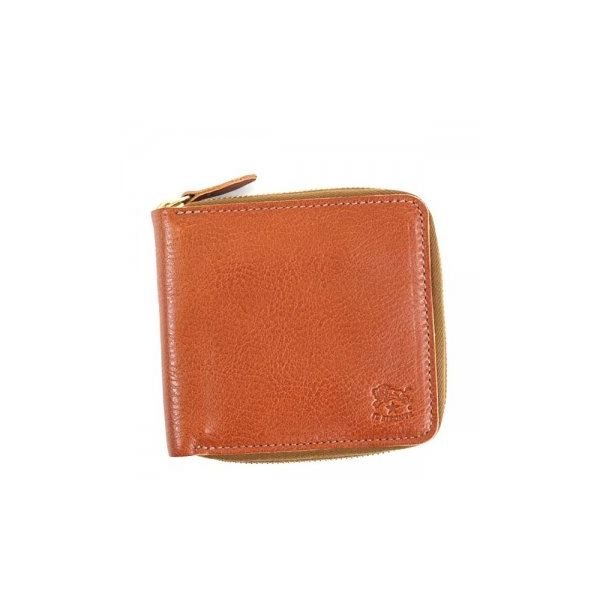 IL Bisonte(イルビソンテ) 二つ折り財布(小銭入れ付) C0990 214 COGNACf00