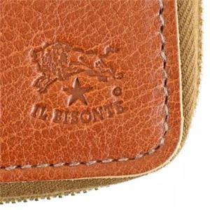 IL Bisonte(イルビソンテ) 二つ折り財布(小銭入れ付) C0990 214 COGNAC f04