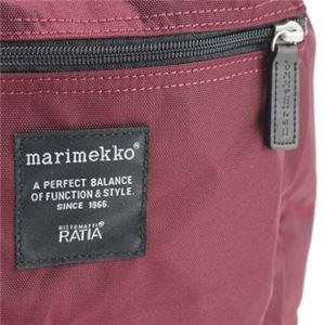 marimekko(マリメッコ) バックパック  26994 390 WINE RED f05