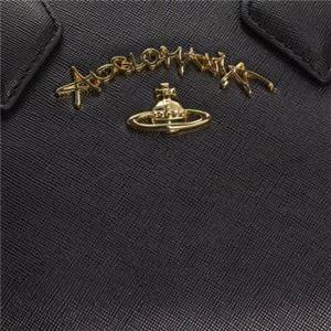 Vivienne Westwood(ヴィヴィアンウエストウッド) ハンドバッグ  7063V  BLACK f05
