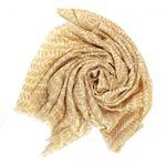 See Design(シーデザイン) スカーフ 2289 FEATHER CAMELの画像