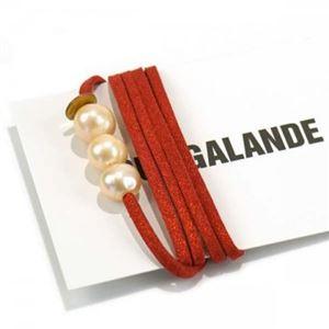 RUE GALANDE(ル ガランド) ブレスレット ROUGE