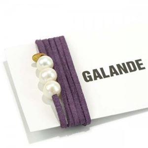 RUE GALANDE(ル ガランド) ブレスレット CLEAR PURPLE