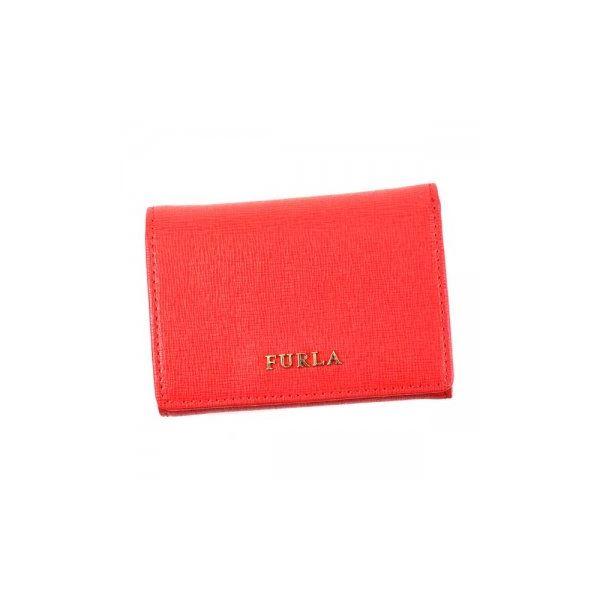Furla(フルラ) 三つ折り財布(小銭入れ付) PN75 RUB RUBYf00