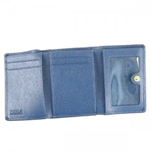 Furla(フルラ) 三つ折り財布(小銭入れ付) PN75 BLB BLU COBALTO 16W h03