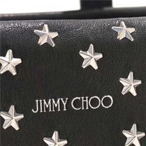 Jimmy Choo(ジミーチュー) トートバッグ MINISARA BLACK f04