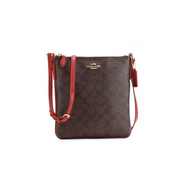 Coach Factory(コーチ F) ショルダーバッグ 35940 SIGNATURE COATED COTTON CANVASf00