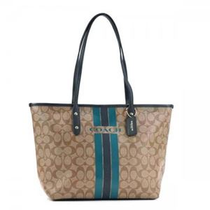Coach Factory(コーチ F) トートバッグ 38405 SIGNATURE COATED COTTON CANVAS h01