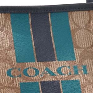 Coach Factory(コーチ F) トートバッグ 38405 SIGNATURE COATED COTTON CANVAS f04