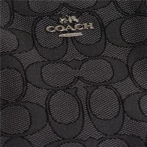 Coach(コーチ) ナナメガケバッグ 33524 SVDK6 SV/BLACK SMOKE/BLACK f05