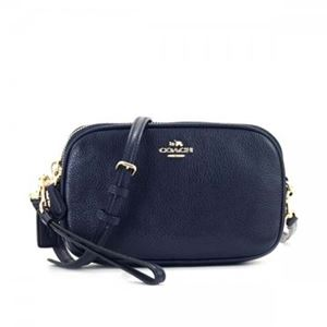 Coach(コーチ) ナナメガケバッグ 65547 LINAV NAVYf01