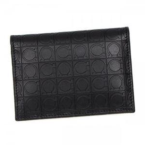 Ferragamo(フェラガモ) カードケース 669410 568287 DEEP BLACK
