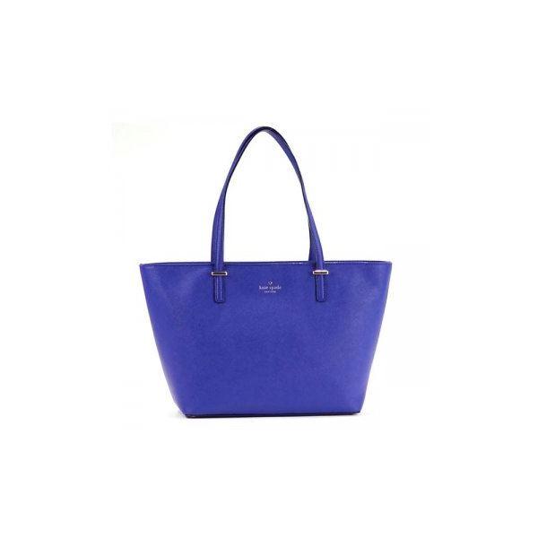 KATE SPADE(ケイトスペード) トートバッグ PXRU4545 443 NIGHTLIFE BLUE | CRISP LINENf00