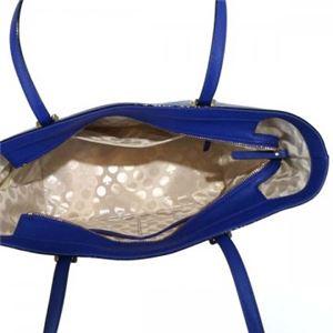 KATE SPADE(ケイトスペード) トートバッグ PXRU4545 443 NIGHTLIFE BLUE | CRISP LINEN h03