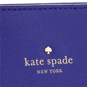 KATE SPADE(ケイトスペード) トートバッグ PXRU4545 443 NIGHTLIFE BLUE | CRISP LINEN f04