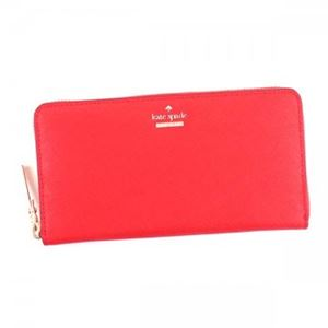 KATE SPADE(ケイトスペード) 長財布 PWRU5073 603 ROOSTER RED | BLACK/CREAM h01