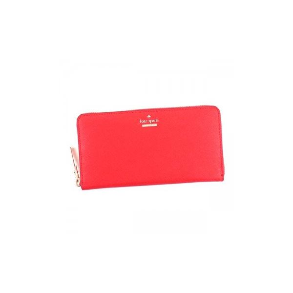 KATE SPADE(ケイトスペード) 長財布 PWRU5073 603 ROOSTER RED | BLACK/CREAMf00