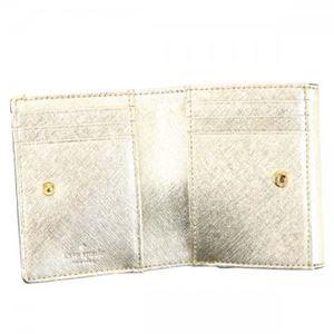 KATE SPADE(ケイトスペード) 二つ折り財布(小銭入れ付) PWRU5092 711 GOLD h03