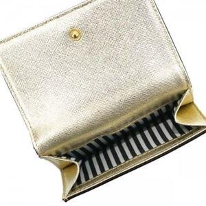 KATE SPADE(ケイトスペード) 二つ折り財布(小銭入れ付) PWRU5092 711 GOLD f04