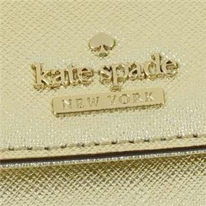 KATE SPADE(ケイトスペード) 二つ折り財布(小銭入れ付) PWRU5092 711 GOLD f05