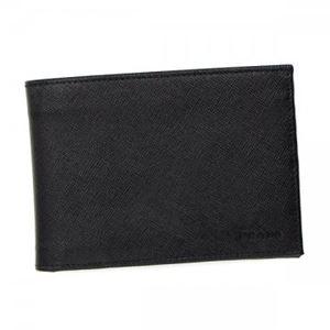 Prada(プラダ) 二つ折り財布(小銭入れ付) 2M0002 F0002 NERO h01