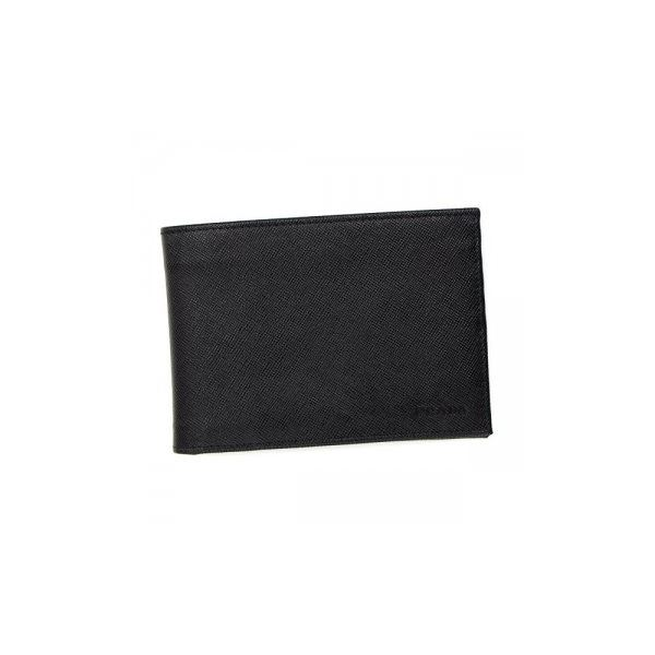 Prada(プラダ) 二つ折り財布(小銭入れ付) 2M0002 F0002 NEROf00