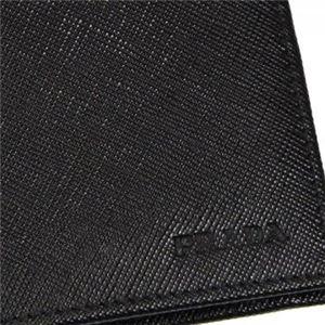 Prada(プラダ) 二つ折り財布(小銭入れ付) 2M0002 F0002 NERO h03