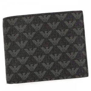 EMPORIO ARMANI(エンポリオアルマーニ) 二つ折り財布(小銭入れ付) Y4R065 86526 LAVAGNA/NERO h01