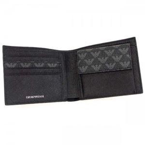 EMPORIO ARMANI(エンポリオアルマーニ) 二つ折り財布(小銭入れ付) Y4R065 86526 LAVAGNA/NERO h02