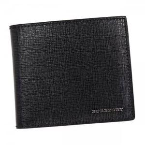 Burberry(バーバリー) 二つ折り財布(小銭入れ付) 3997618 BLACK h01