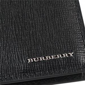 Burberry(バーバリー) 二つ折り財布(小銭入れ付) 3997618 BLACK f04