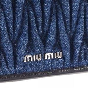 MIUMIU(ミュウミュウ) ショルダーバッグ 5BD023 F0008 BLEU f04