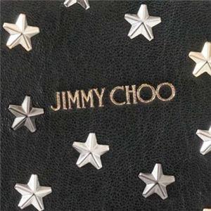 Jimmy Choo(ジミーチュー) トートバッグ MINISARA BLACK/METALLIC MIX f04